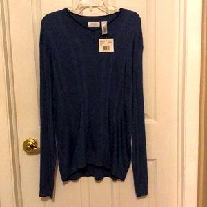 Men's long sleeve dress shirt / sweater